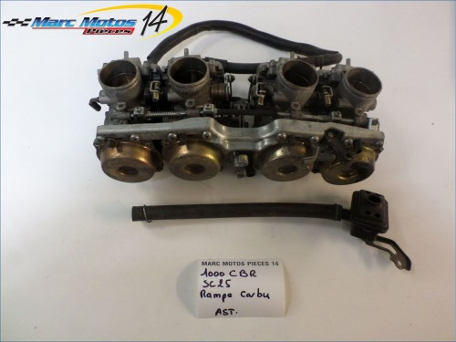 RAMPE DE CARBURATEURS HONDA 1000 CBR F 1990