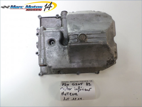 CARTER INFERIEUR MOTEUR SUZUKI 750 GSXF 1989