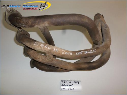 COLLECTEUR D'ECHAPPEMENT KAWASAKI Z750 2003