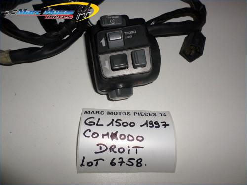 COMMODO DROIT HONDA 1500 GL GOLDWING 1997