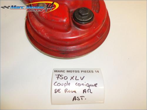 COUPLE CONIQUE DE ROUE ARRIERE HONDA 750 XLV