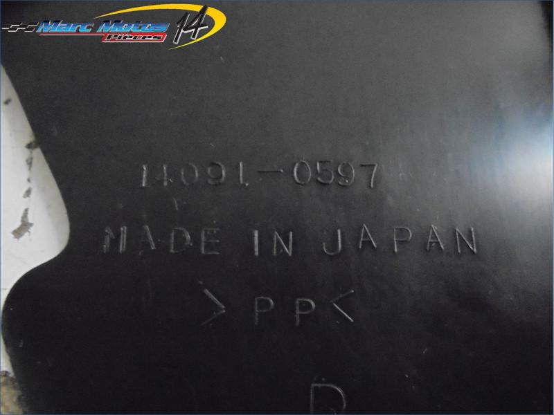 HABILLAGE DE CARENAGE DROIT KAWASAKI ER6 F 2006