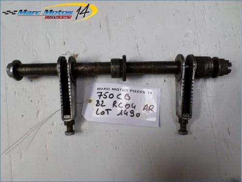 AXE DE ROUE ARRIÈRE HONDA 750 CB F BOL D OR 1982