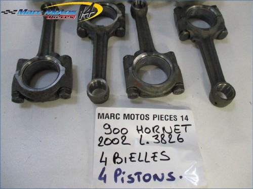 BIELLE - PISTON HONDA 900 HORNET 2002
