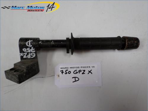 DEMI GUIDON DROIT KAWASAKI 750 GPZX