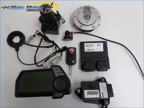 KIT SERRURES DUCATI 1200 MULTISTRADA ABS 2011