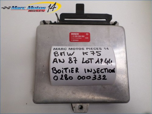 BOITIER D'INJECTION BMW K75S  1987