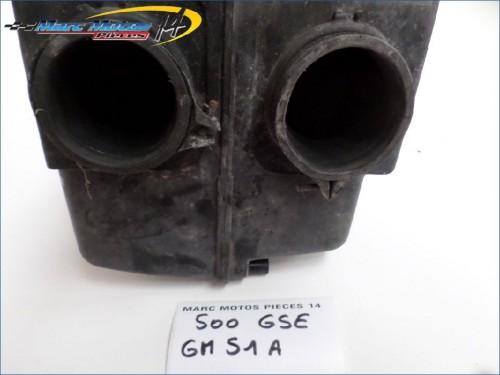 BOITIER DE FILTRE A AIR SUZUKI 500 GSE GM51A