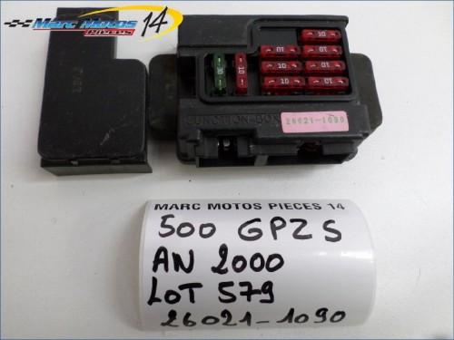 BOITIER FUSIBLES KAWASAKI 500 GPZ S  2000