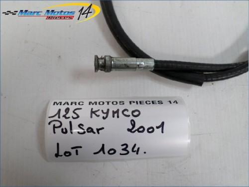 CABLE DE COMPTEUR KYMCO 125 PULSAR 2001