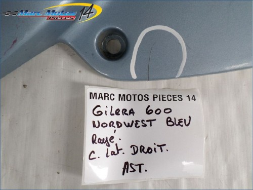 CACHE LATERAL DROIT GILERA 600 NORDWEST