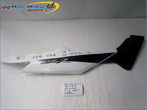 CACHE LATERAL DROIT HONDA 125 CBR  2005