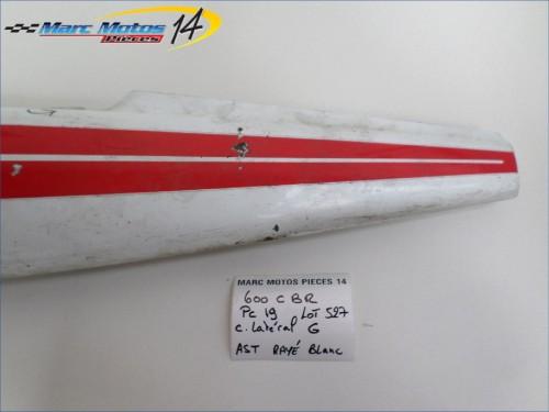 CACHE LATERAL GAUCHE HONDA 600 CBR F  PC19