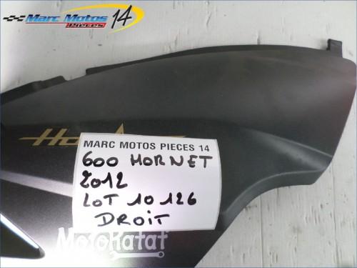 CACHE LATERAL INTERMEDIAIRE DROIT HONDA 600 HORNET  2012
