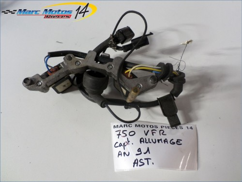 CAPTEUR / PLATEAU D'ALLUMAGE HONDA 750 VFR  1991